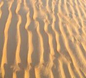 w Oman stara pustynia l i pusta kwartalna abstrakcjonistyczna tekstura Zdjęcia Stock
