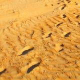 w Oman stara pustynia l i pusta kwartalna abstrakcjonistyczna tekstura Obraz Royalty Free