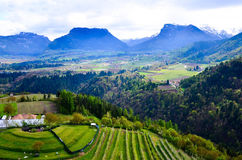 Włoscy Alps Fotografia Royalty Free