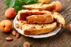 włoscy cantuccini ciastka Fotografia Royalty Free