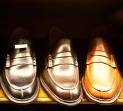 włoscy luksusowi buty Zdjęcie Royalty Free