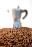 Włoska kawa Fotografia Stock