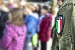 Włoska odznaka Obraz Stock