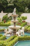 Włoska renesansu ogródu fontanna Zdjęcie Royalty Free
