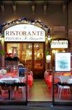 włoska restauracja Obrazy Royalty Free