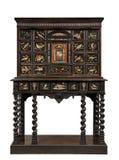 Włoska stara antykwarska klatka piersiowa na stojaku Zdjęcie Royalty Free