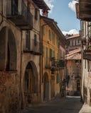 włoska stara wioska Obraz Stock