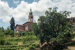włoska stara wioska Zdjęcie Royalty Free
