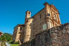 włoska stara wioska Obraz Royalty Free