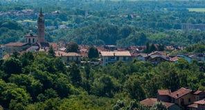 włoska stara wioska Zdjęcie Stock