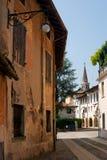 Włoska ulica stary miasteczko Zdjęcie Stock
