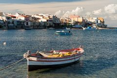 Włoska wioska rybacka Obraz Stock
