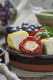 Włoski Antipasto z pieprzem Zdjęcia Stock