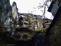Włoski artystyczny miasteczko Zdjęcia Stock