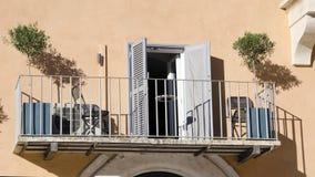 Włoski balkon Obraz Royalty Free