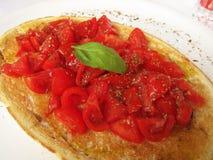 Włoski bruschetta Fotografia Stock