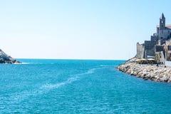 Włoski denny widok Zdjęcia Stock