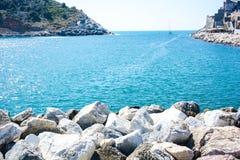 Włoski denny widok Zdjęcie Royalty Free