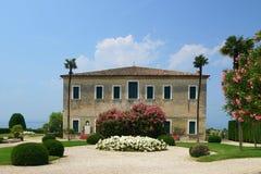 Włoski dwór Obraz Royalty Free