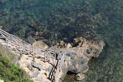 włoski italiano klacza morze Obrazy Stock