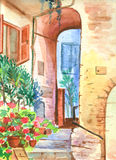 włoski jard Obraz Royalty Free