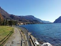 Włoski jezioro, Como fotografia royalty free