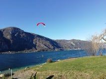 Włoski jezioro, Como obrazy stock
