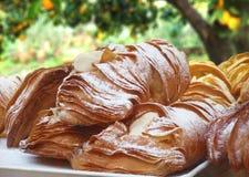 Włoski kulebiak w ogródzie Zdjęcie Stock
