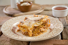 włoski lasagna Zdjęcia Stock