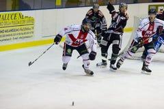 Włoski lodowy hokej Fotografia Stock