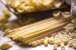 włoski makaron Fotografia Stock