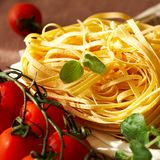 włoski makaron Zdjęcie Stock