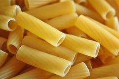 włoski makaron rigatoni fotografia stock
