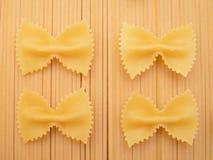 Włoski makaronu jedzenie Zdjęcia Royalty Free
