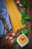 Włoski makaronu tortellini Obraz Royalty Free