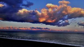 włoski morza Obraz Royalty Free