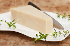 Włoski parmesan ser Obrazy Stock