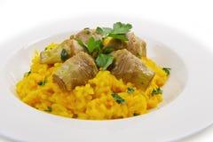 Włoski risotto z artichok Zdjęcie Royalty Free