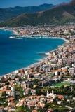 włoski Riviera Zdjęcie Stock