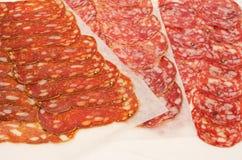 włoski salami Obrazy Stock