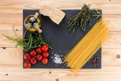 Włoski spaghetti Fotografia Royalty Free