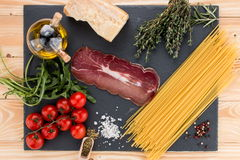 Włoski spaghetti Fotografia Stock
