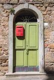włoski stara drzwi Zdjęcia Royalty Free