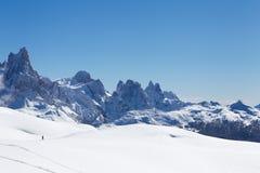włoskie dolomity Zdjęcia Royalty Free