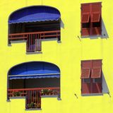 włoskie okno Obrazy Royalty Free