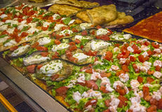 Włoskie pizze Zdjęcie Royalty Free