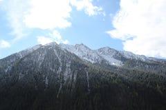 Włoskie wysokogórskie przepustki Zdjęcie Royalty Free