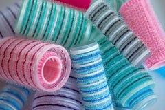 włosy curlers Zdjęcie Stock