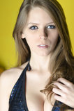 Włosy i makeup Fotografia Royalty Free