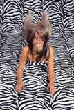 włosy powietrza Fotografia Stock